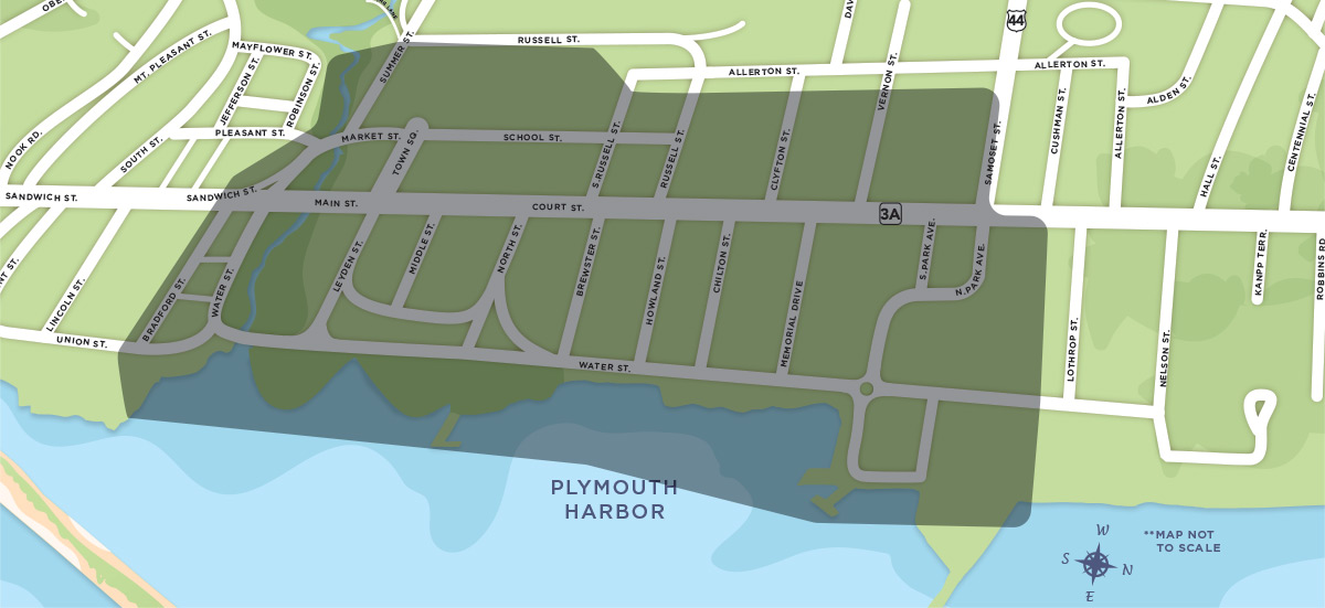 The Plymouth Bay Cultural District Is A Vibrant Geographic Region That Includes Both The Plymouth Waterfront And Downtown Areas